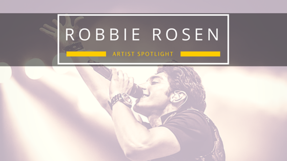 JaxxShack.com music blog American Idol's Robbie Rosen Artist Spotlight