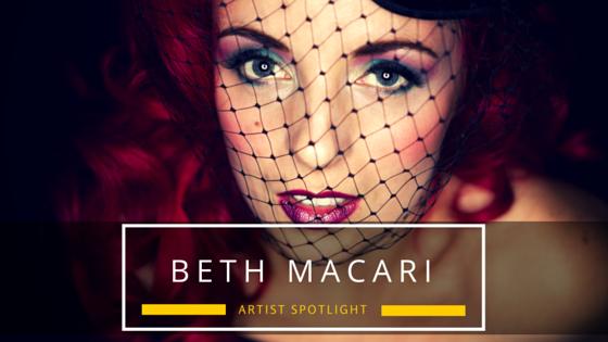 Beth Macari JaxxShack music blog Spotlight Artist